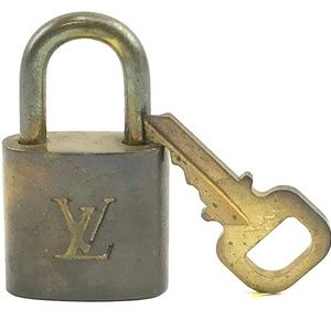 Gold Lock Keepall Speedy Alma Brass Key Set #304